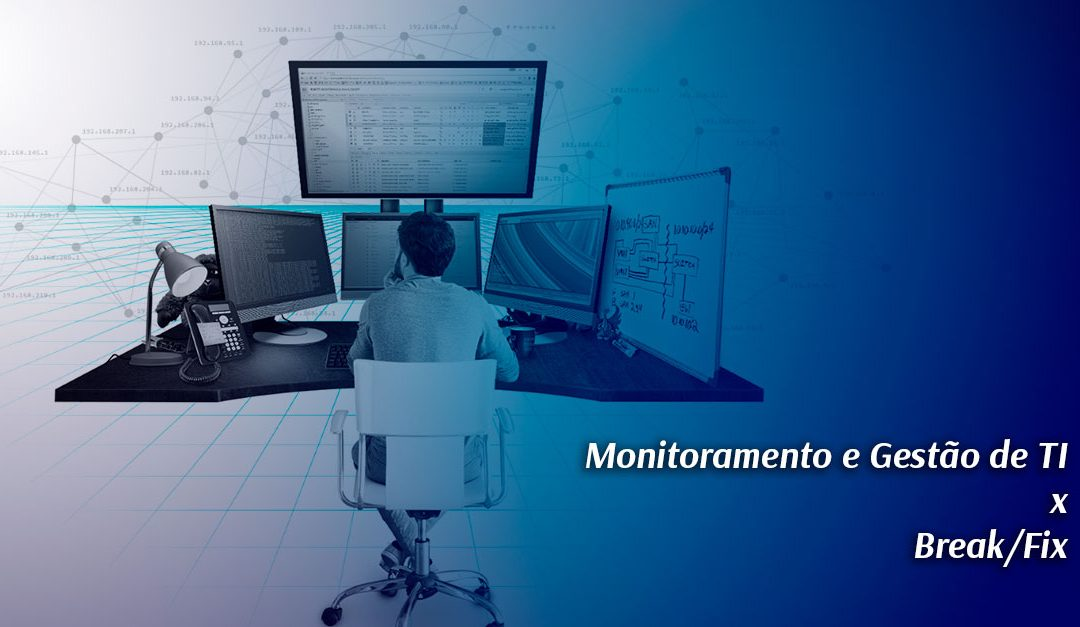 Monitoramento e Gestão de TI x Break/Fix